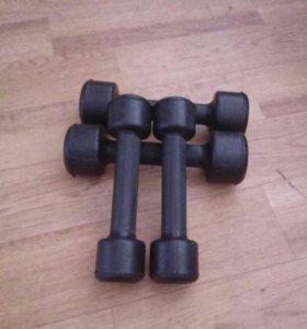 Гантельки для фитнеса