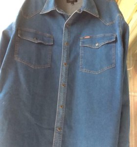 Джинсовая рубашка 60р