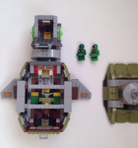 Черепаха-подводная лодка из Лего черепашки ниндзя
