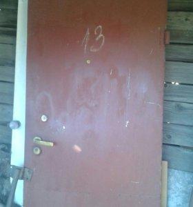 Дверь жилезная