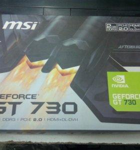 Видеокарта MSI GT 730 2гб