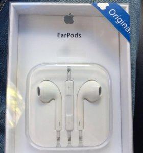 Наушники-Оригинал от iPhone EarPods