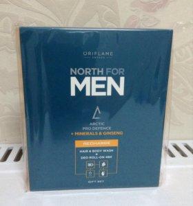 Набор дезодорант + шампунь для волос и тела