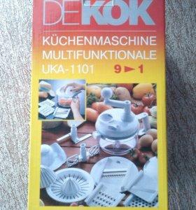 👍Механический кухонный процессор DEKOK UKA-1110