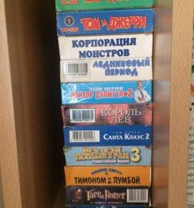 Продам кассеты для видеомагнитофона