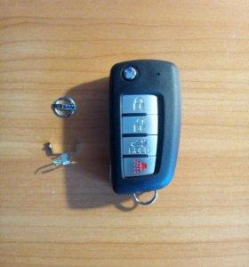 "Флип ключ""Nissan"""