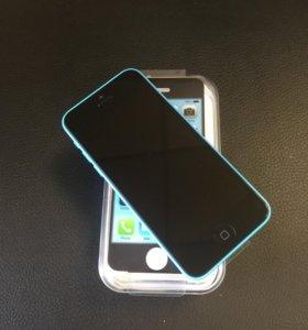 iPhone 5c Blue 32 gb новый
