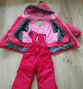 Зимняя куртка, полукомбез