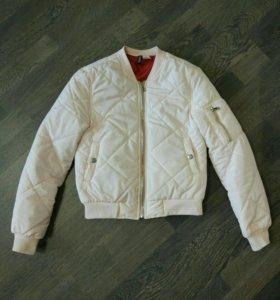 Бомбер 42-44 куртка женская