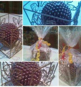 Свеча в кубе на подарок!