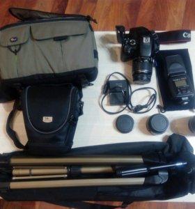 Фотоаппарат Canon 550