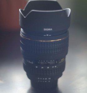 Широкоугольный объектив Sigma 15-30mm F3.5-4.5 DG