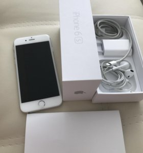 iPhone 6S, 64 Gb, silver
