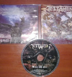 CD Testament - The Formation Of Damnation '2008
