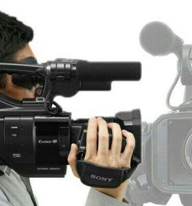 Видеосъёмка на эту видеокамеру