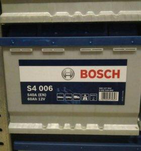 Аккумулятор Bosch 60A 540A(EN)