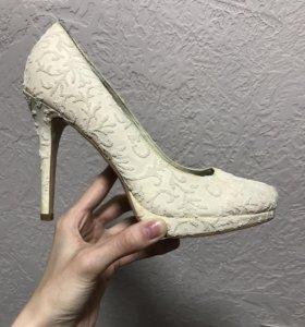 Туфли свадебгые