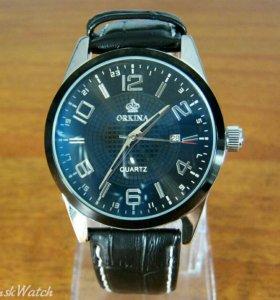 Кварцевые часы Orkina - черные