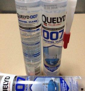 Монтажный клей-герметик Quelyd 007 CRYSTAL CLEAR