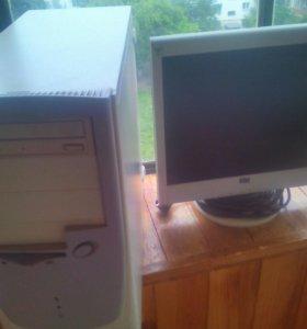 Офисный пк с жк монитором