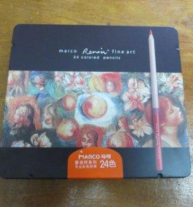 Набор профессиональных карандашей Marco Renoir 24