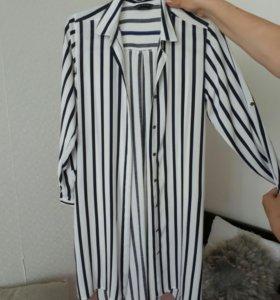 Рубашка - туника новая