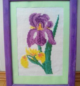 Картина цветв