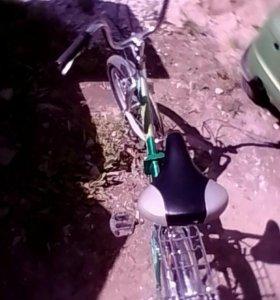 Складной велосипед стелс пилот 350!