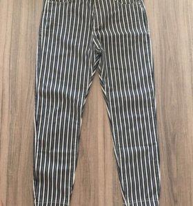 Новые джинсы-брюки Bershka стрейч 46,48