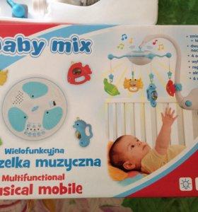 Мобиль Baby mix Подводный мир с ночником