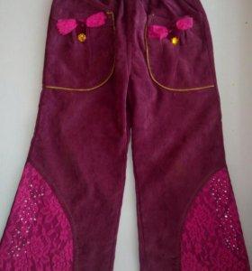 Штанишки для модницы 1,5-2 года