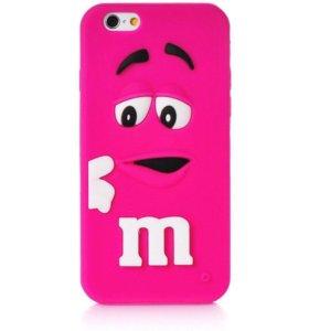 3D Чехлы m&m на айфон 6,6s