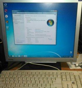 Мини компьютер с монитором Benq