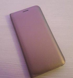Стильный чехол-книжка для Samsung galaxy S6/S6 edg