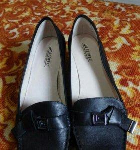 Туфли фирменные кожаные 42 размера