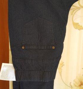 Женские брюки-джегинсы