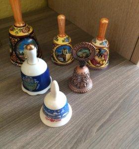 Колокольчики сувенирные