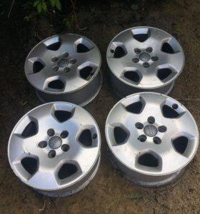Диски алюминиевые ауди а3 тт оригинал 5.100 15