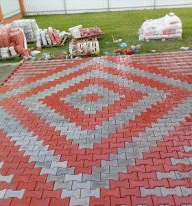 Укладка тротуарная плитки