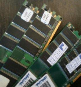 Память DDR 400 PC-3200 4*1GB