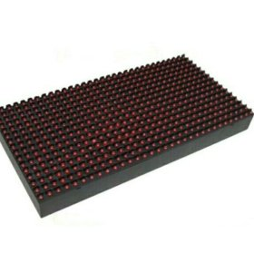 Светодиодный модуль Р10 красный