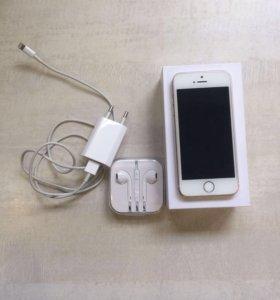 Айфон 5 s gold 16 г
