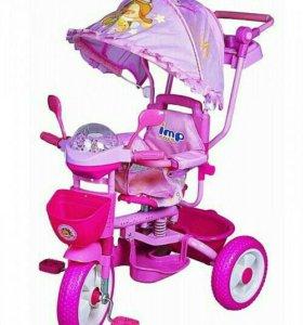 Новый велосипед детский