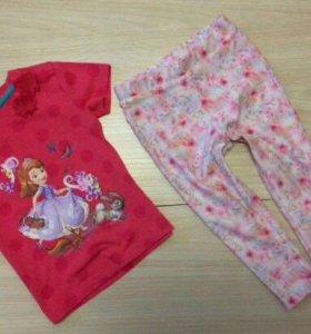 Одежда для девочки 1-2года недорого