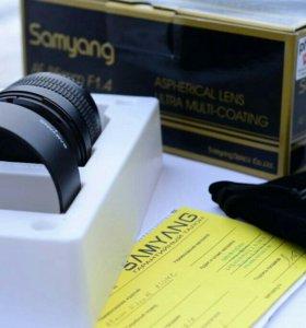 Портретный объектив Samyang 85mm f/1.4
