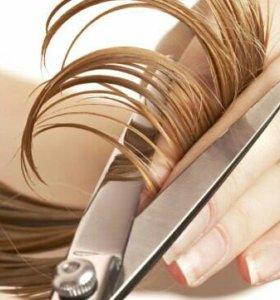Стрижка волос с выездом на дом