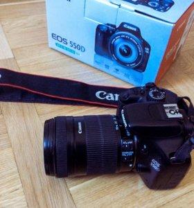 Фотоаппарат Canon EOS 550D Kit 18-135 mm