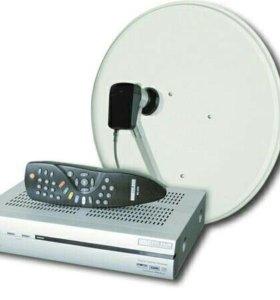 Установка и настройка спутникого телевидения