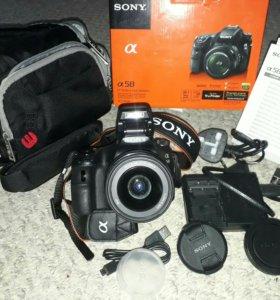 Зеркальная камера Sony SLT-A58 Kit 18-55