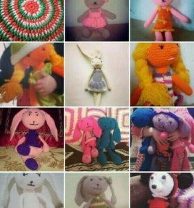 Вязаные игрушки